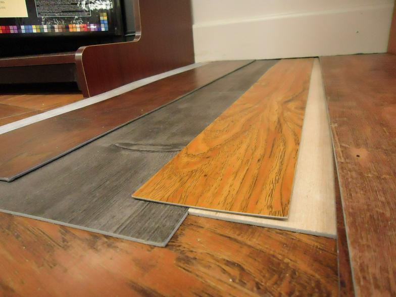 Luxury vinyl flooring resilient for Luxury laminate